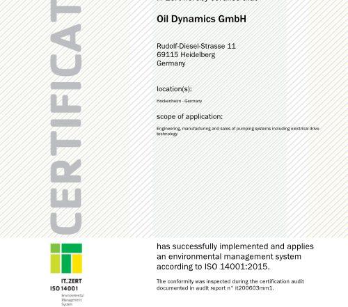 ZERT_ISO14001-2015_Oil Dynamics GmbH_en