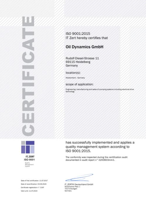 ZERT_ISO9001-2015_Oil Dynamics GmbH_en